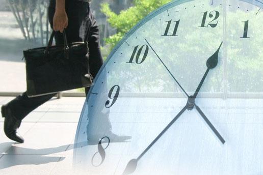 時計 サラリーマン