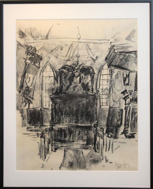 te_koop_aangeboden_een_houtskool_tekening_van_de_kunstenaar_germ_de_jong_1886-1967_bergense_school