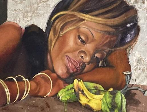 Leinwandbild aus Kuba auf Keilrahmen spannen.