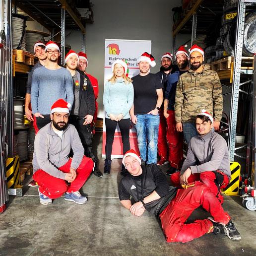 Weihnachtsgrüße 2019 Elektrotechnik Brandstädter Team