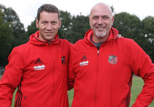 Mike Schweitzer (links) und Stephan Petrov.