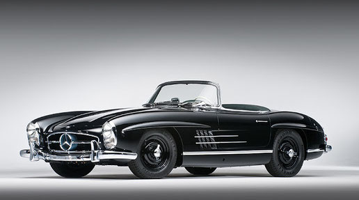 57 Mercedes 300SL roadster