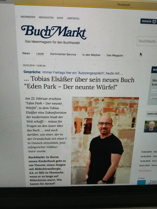 Das ganze Interview auf buchmarkt.de