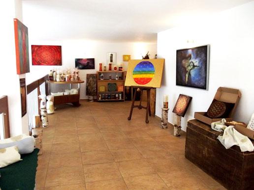 Kunst zum Wohlfühlen meine Galerie und Austellungsraum in der Industriezone Unterackern