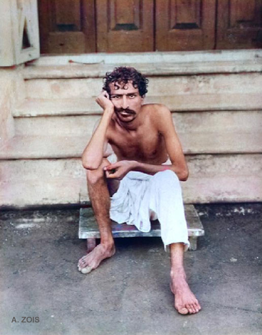 23. Meher Baba at Manzil-e-Meem, Bombay, India in 1922.