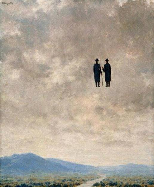 "Réne Magritte, ""L'arte della conversazione"" (1963)"