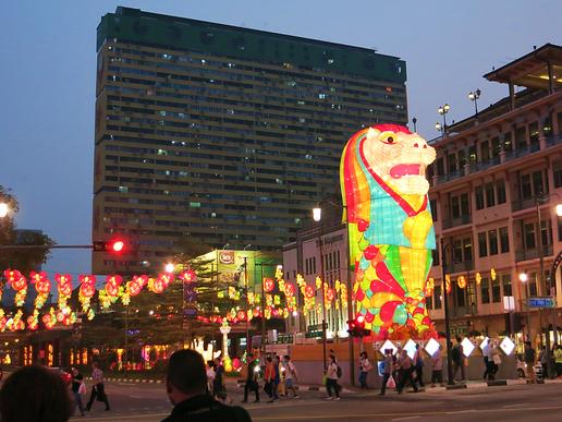 Im Stadtteil Chinatown