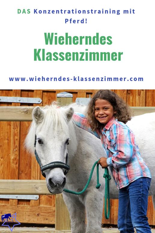 Wieherndes Klassenzimmer: DAS Konzentrationstraining mit Pferd.