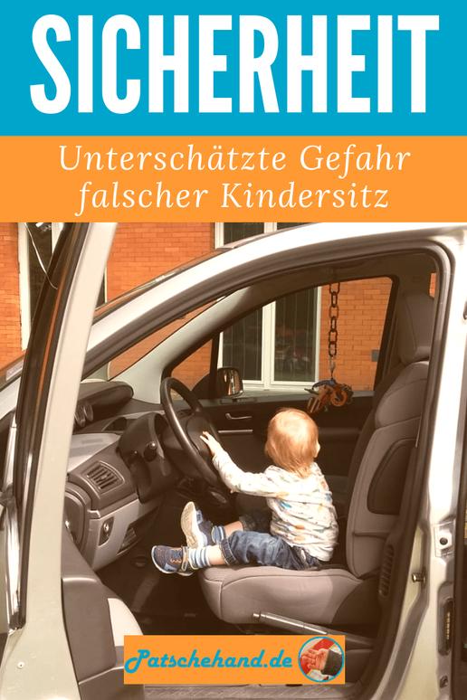 Profi-Tipps für mehr Kindersicherheit im Auto mit den Zwergperten mit Grafik zum Pinnen und Teilen auf Mama-Blog Patschehand.de