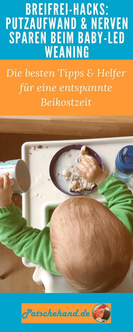 Tipps und Tricks zum Baby-led Weaning auf Mama-Blog Patschehand.de / Grafik zum Pinnen