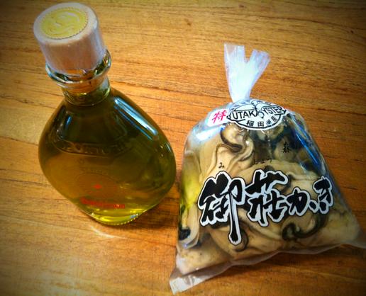 カキフライ決定!(笑〉 オリーブオイルはサラダに、。 山崎さんいつもありがとうございます。