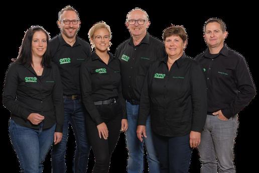 Verkaufsteam Jenny Scheidt, Dominik Scheidt, Claire Schneider, Gerd Schneider, Claudia Schneider, Torsten Seiwert