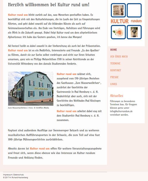 Kultur rund um | Kulturelle Stadtführungen | H. Richard Hackenberg  | www.kulturrundum.de
