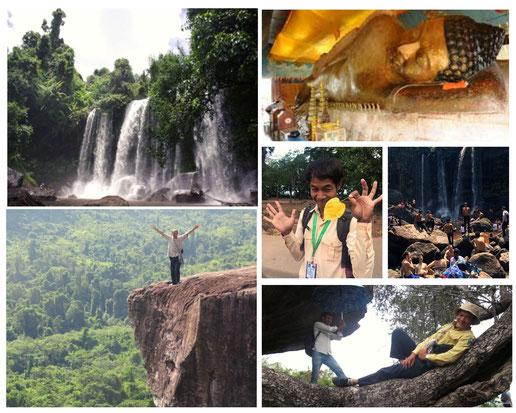 プノンクーレン|カンボジア旅行|オークンツアー|現地ツアー