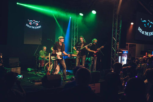 DIX & THE JOKERS – ROCK-POP-COVERBAND