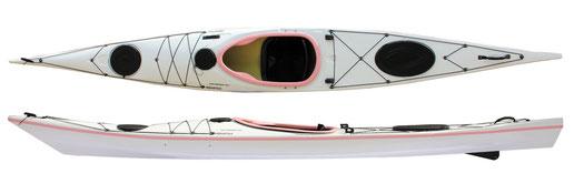 Aquarius Sea Emotion 480 White & Pink アクエリアス シーエモーション480