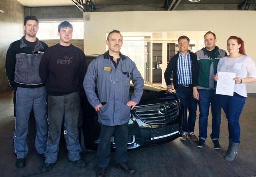 Werkstatt test Werntal-Autohaus, Opel