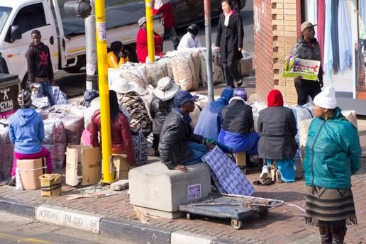 Streetlife in Johannesburg