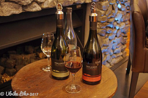 Weinprobe auf Yealands Estate