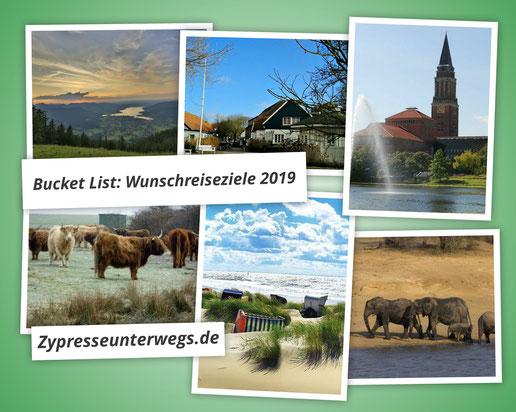 Bucket List: Unsere Wunschreiseziele für 2019