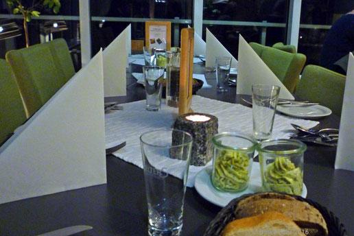 "im Panorama Restaurant ""Seekrug"""