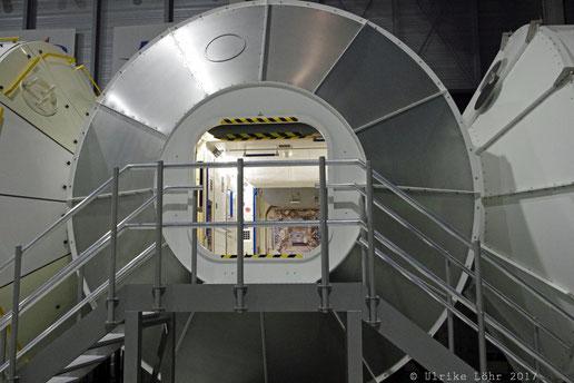 das Modul Columbus (ISS)