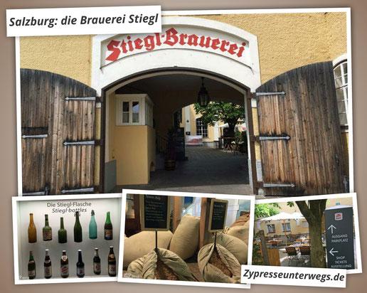 Ein Ausflug nach Salzburg in die Brauerei Stiegl