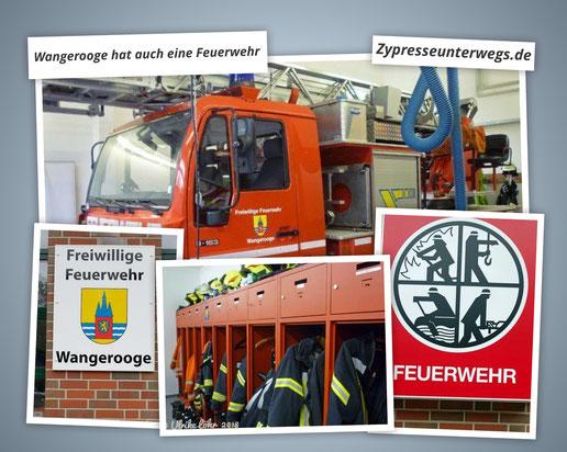 Wangerooge hat auch eine Feuerwehr {Werbung}