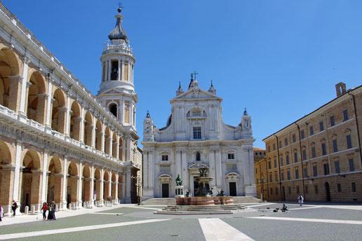 Loreto - die Basilika der Santa Casa