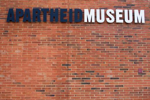 Das Apartheid Museum in Johannesburg