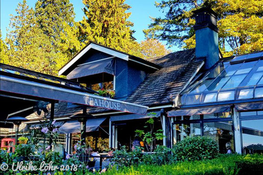 The Teahouse in Stanley Park Vancouver