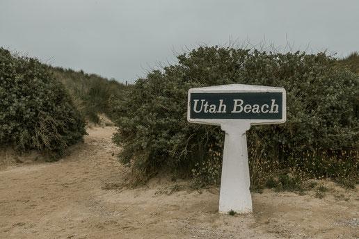 Utah Beach – Eingang zum berühmten Strand am Utah Beach Landing Museum (C) Snoopsmaus