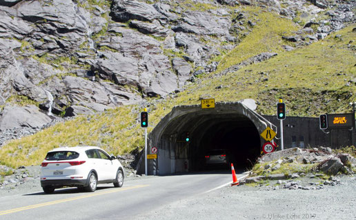 Homer Tunnel - Osteinfahrt