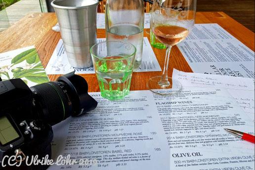 Wine Tasting auf Babylonstoren