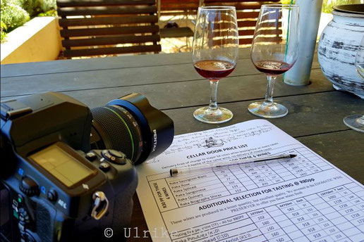 Weinprobe bei Raka Wine