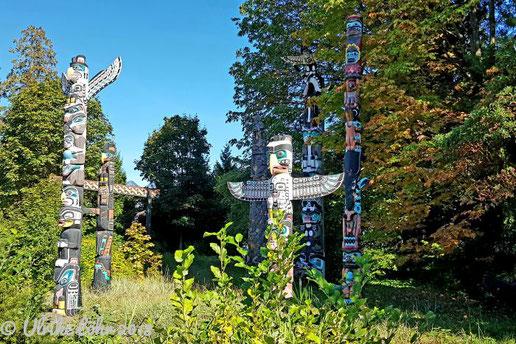 Totem Poles im Stranley Park Vancouver