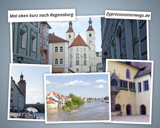 Mal eben kurz nach Regensburg