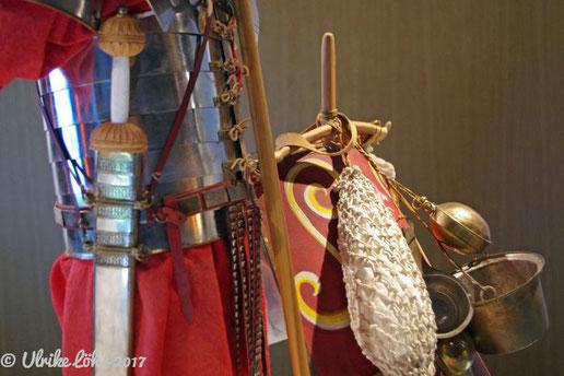 römischer Legionär im Museum Kalkriese