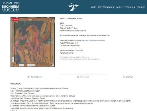 Screenshot von https://sammlung.buchheimmuseum.de/werk/0.00006b