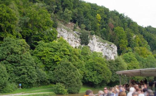 """Auf der """"Kelheim"""" durch das Donautal"""