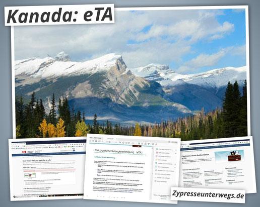 Kanada: elektronische Reisegenehmigung (eTA) richtig ausfüllen {Werbung ohne Auftrag}