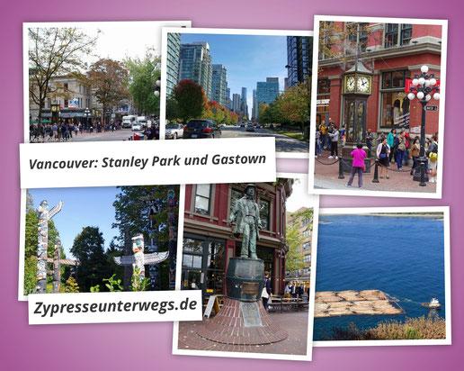 Vancouver: Stanley Park und Gastown