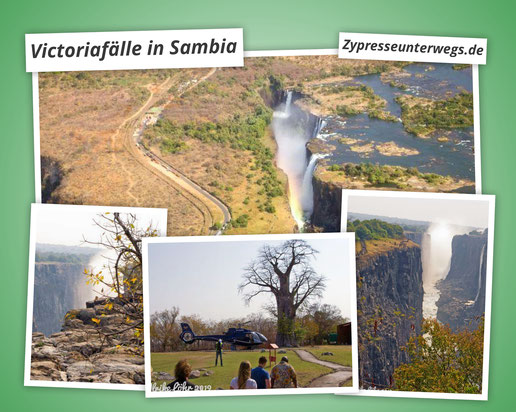 Victoriafälle in Sambia