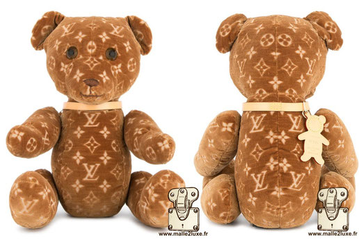 Doudou by Louis Vuitton peluche pour enfant riche de luxe M99000