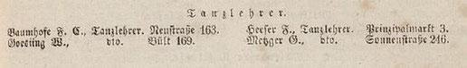 Einwohnerbuch 1853