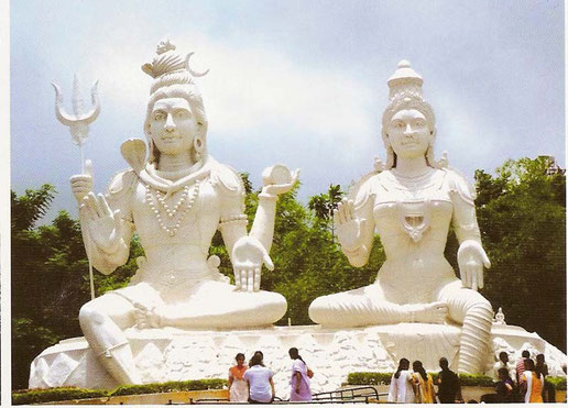 El Dios del Sol en el templo de Arasavalli