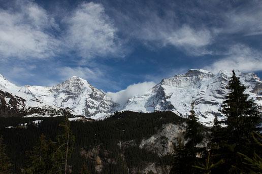Jungfraujoch, Alps, Switzerland, Eiger