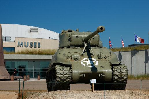 Das Utah Beach Landing Museum in der Normandie