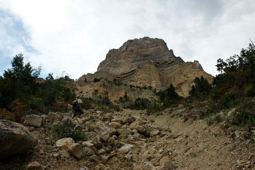 Geröll, Wandern, Wandertour USA, Canyon