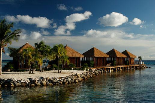 Beautiful Renaissance Island at Aruba, Cabanas, Caribbean